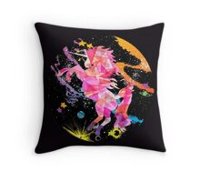 I Believe In A Cure Throw Pillow