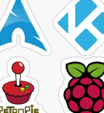 Arch Linux - Raspberry Pi Case Sticker Sticker