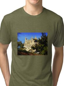A Glimpse of Exeter Cathedral Tri-blend T-Shirt