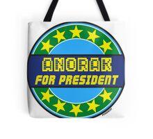 ANORAK FOR PRESIDENT Tote Bag