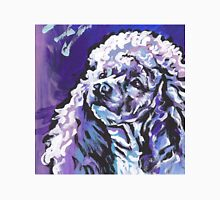 Poodle Dog Bright colorful pop dog art Unisex T-Shirt