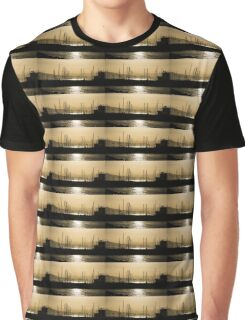 Naples, Italy Harbour Lights Graphic T-Shirt