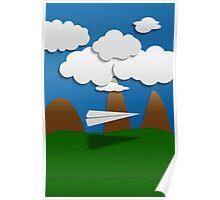 Paper Airplane 58 Poster
