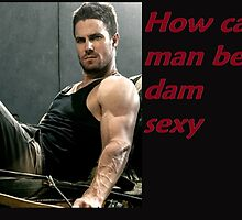Arrow sexy man by savsmoonlight