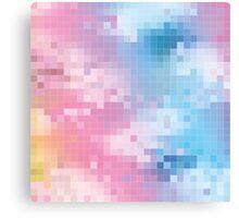 Pixel Party Canvas Print
