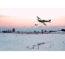 Morning Snowfall Photographic Print