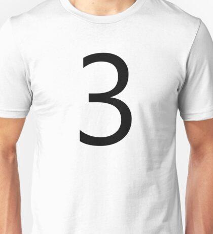 Number 3 Shirt  Unisex T-Shirt