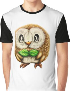 Cute owl rowlet  Graphic T-Shirt