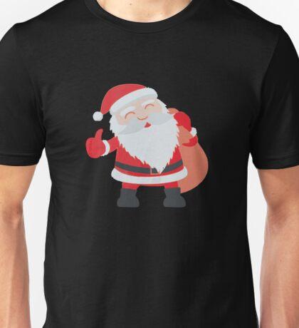 Ho Ho Ho Merry Christmas Santa Funny Unisex T-Shirt