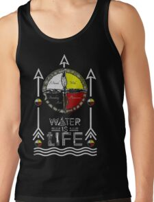 I STAND WITH STANDING ROCK - MNI WICONI Tank Top