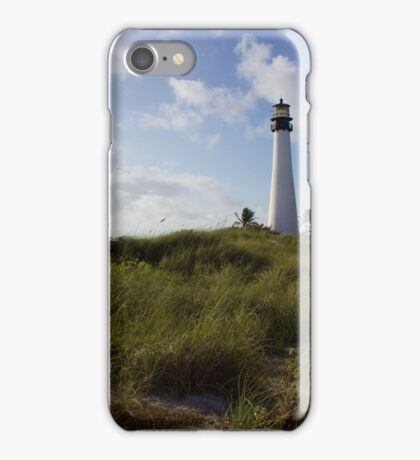 Lighthouse on the Dunes iPhone Case/Skin