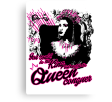 Queen Nicki  Canvas Print