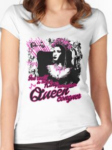Queen Nicki  Women's Fitted Scoop T-Shirt