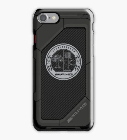 high tech AMG carbon fiber case iPhone Case/Skin