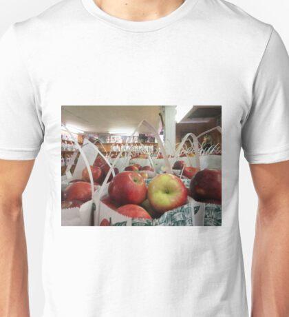 Autumn Apple Picking Unisex T-Shirt