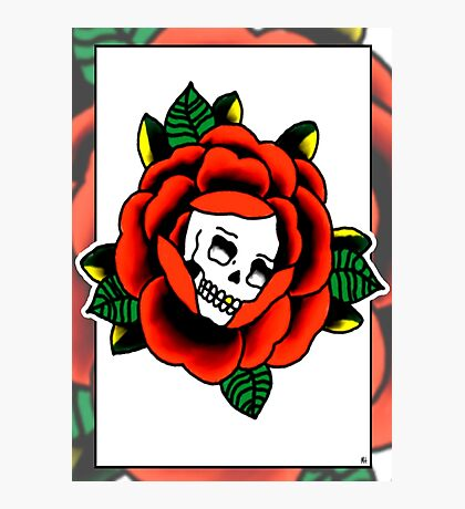 Traditional Rose for Print Photographic Print