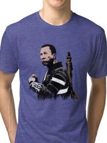 Chirrut Imwe - Star Wars: Rogue One - White Tri-blend T-Shirt