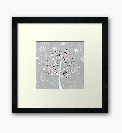 Winter tree2 Framed Print