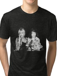 Patsy and Eddie Tri-blend T-Shirt