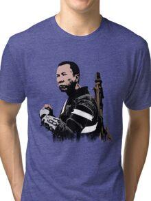 Chirrut Imwe - Star Wars: Rogue One - Black Tri-blend T-Shirt