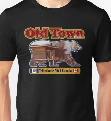 Old Town Reflections Yellowknife NWT Unisex T-Shirt