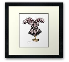 corset by tony fernandes Framed Print