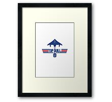 Top Quill Framed Print