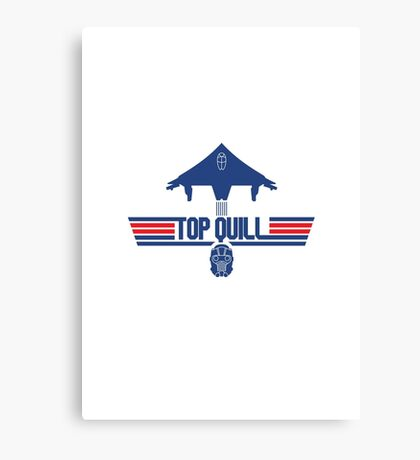 Top Quill Canvas Print