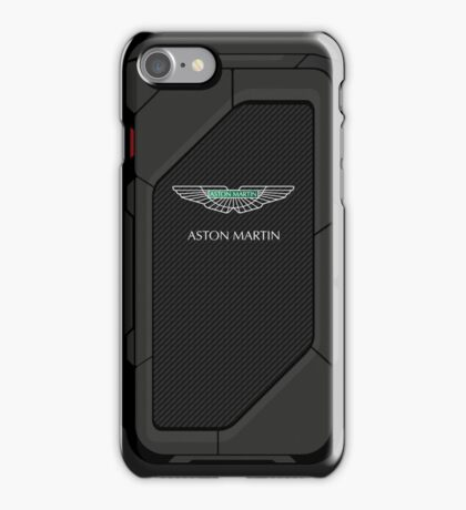 high tech Aston Martin carbon fiber case iPhone Case/Skin