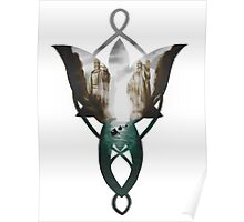 Evenstar at the Argonath Poster