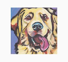 Golden Retriever Dog Bright colorful pop dog art Unisex T-Shirt