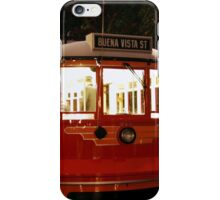 Red Car Trolley - 717 iPhone Case/Skin