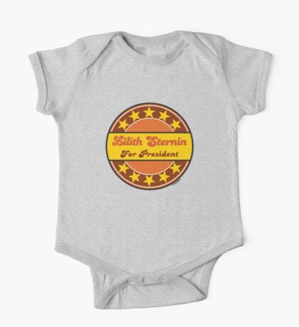 LILITH STERNIN FOR PRESIDENT One Piece - Short Sleeve