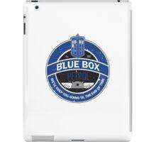 Blue Box Petrol iPad Case/Skin