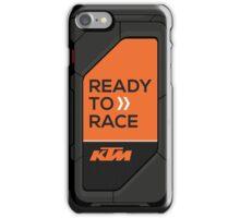 high tech KTM carbon fiber case iPhone Case/Skin