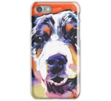 Australian shepherd Aussie Bright colorful Pop Art iPhone Case/Skin
