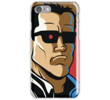 Time Travelers, Series 2 - The Terminator (Alternate) iPhone Case/Skin