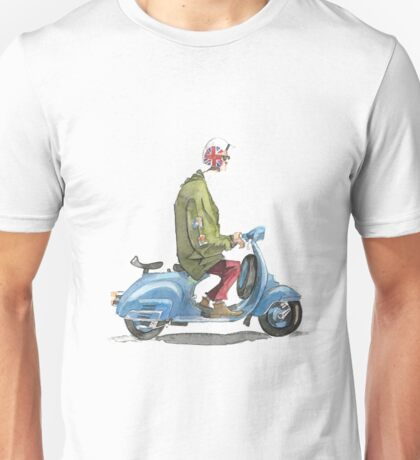 Casual vespa motorcycle Unisex T-Shirt