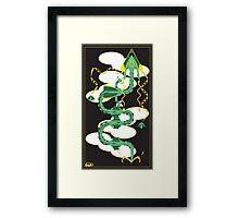 Dragon Delta Framed Print