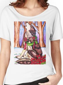 Howl for the Holidays Women's Relaxed Fit T-Shirt