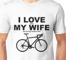 I LOVE MY WIFE* Unisex T-Shirt