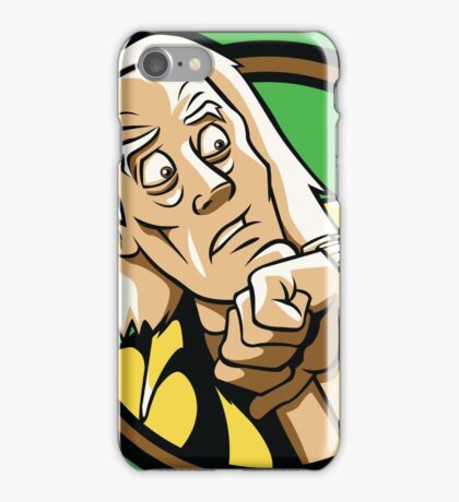 Time Travelers, Series 1 - Doc Brown (Alternate) iPhone Case/Skin