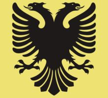 Albanian Eagle / Flag Kids Tee
