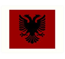 Albanian Eagle / Flag Art Print