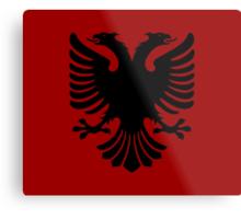 Albanian Eagle / Flag Metal Print