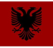 Albanian Eagle / Flag Photographic Print