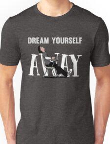 Funny Cool Sleeping Student School Design with Pink Floyd Lyrics  Unisex T-Shirt