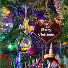 Merry Christmas Greeting Card - Decorated Tree #3 by MotherNature