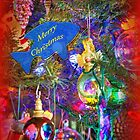 Merry Christmas Greeting Card - Decorated Tree #4 by MotherNature