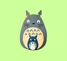 Totoro by LaraFrizzell
